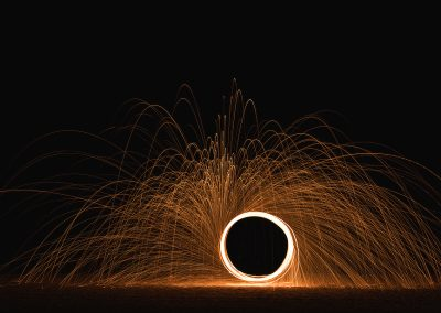 Fire Wheel by Student Julien Bastien