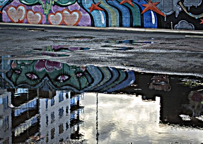 Street Art Reflected by Student Roz Stanley