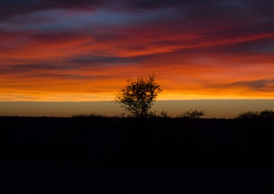 Sunrise In Africa by Student Jeremy Creech